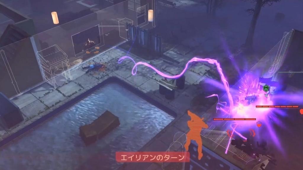 セクトレイドのサイキック能力で攻撃されるシーン【XCOM2】