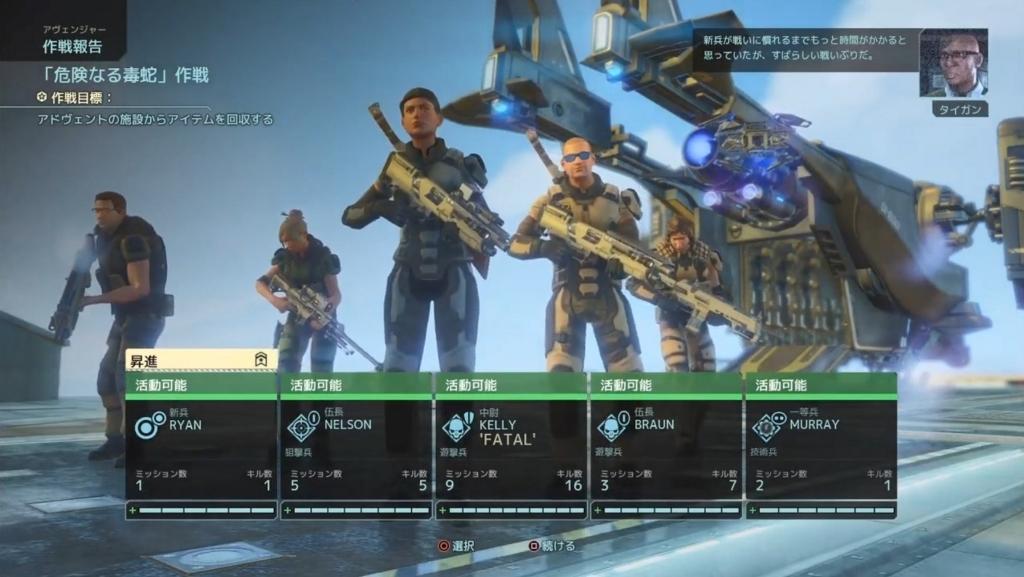 無傷で帰還した兵士たち【XCOM2】