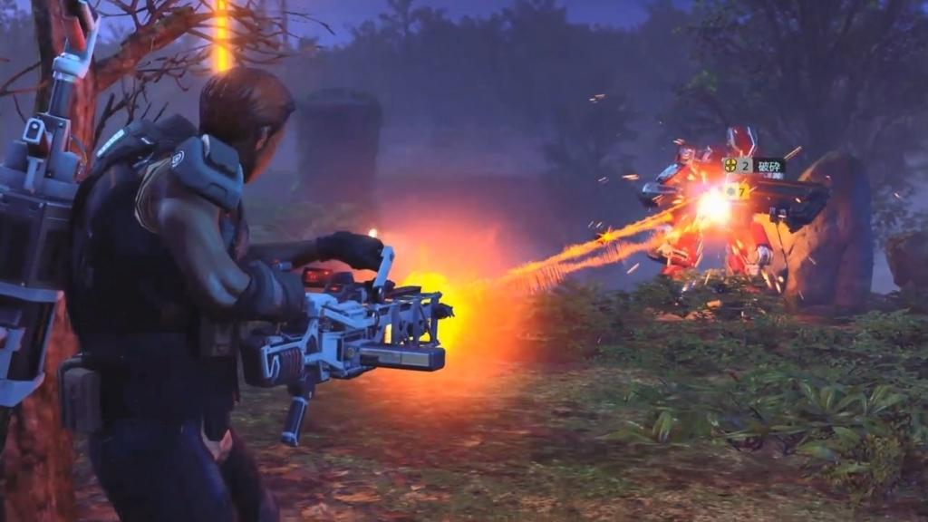 グレネード兵のアビリティ「シュレッダー」で敵のアーマーを破壊したところ【XCOM2】