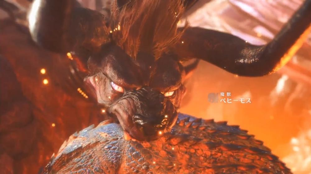 魔獣ベヒーモス【モンスターハンター:ワールド】