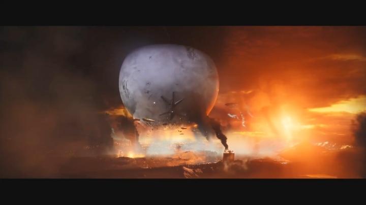 タワーが崩壊するシーン【Destiny 2】