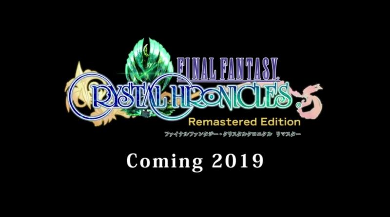 ファイナルファンタジー・クリスタルクロニクル リマスター Coming 2019