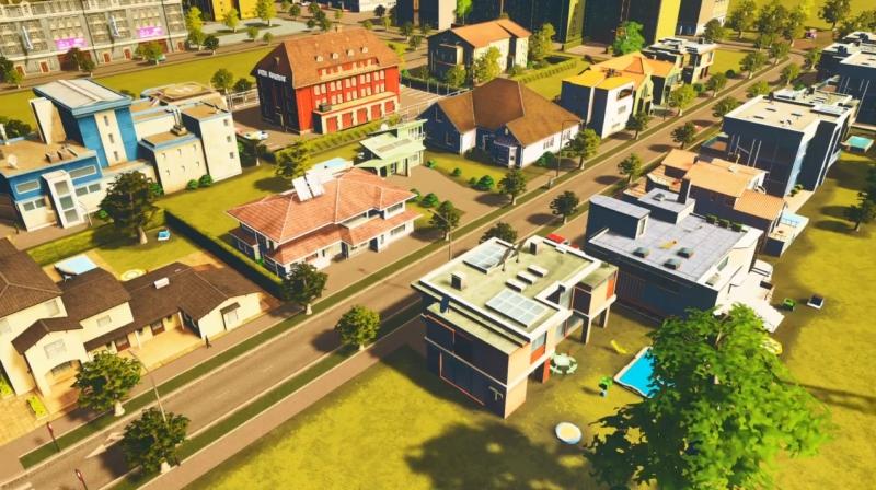 クリフサイドベイの低密度の居住区【シティーズ:スカイライン PlayStation4 Edition】