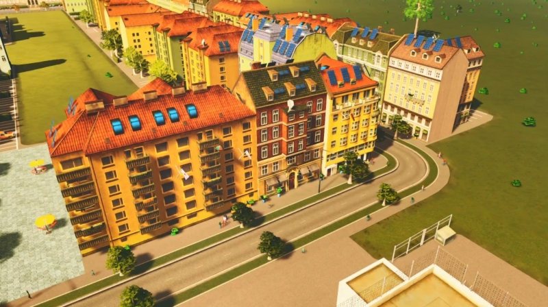クリフサイドベイの高密度の居住区【シティーズ:スカイライン PlayStation4 Edition】