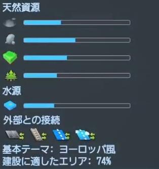 フォギーヒルズのマップデータ【シティーズ:スカイライン PlayStation4 Edition】