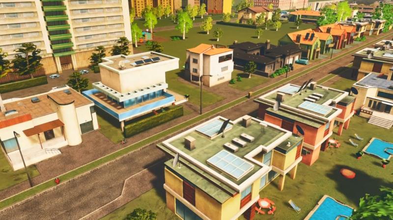 フォギーヒルズの低密度の居住区【シティーズ:スカイライン PlayStation4 Edition】