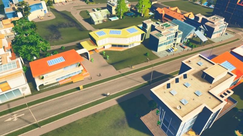 グランドリバーの低密度の居住区【シティーズ:スカイライン PlayStation4 Edition】
