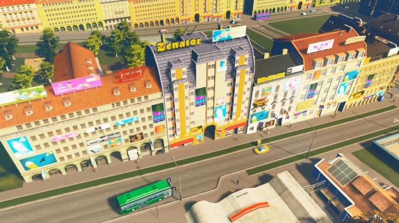 グランドリバーの高密度の商業区【シティーズ:スカイライン PlayStation4 Edition】