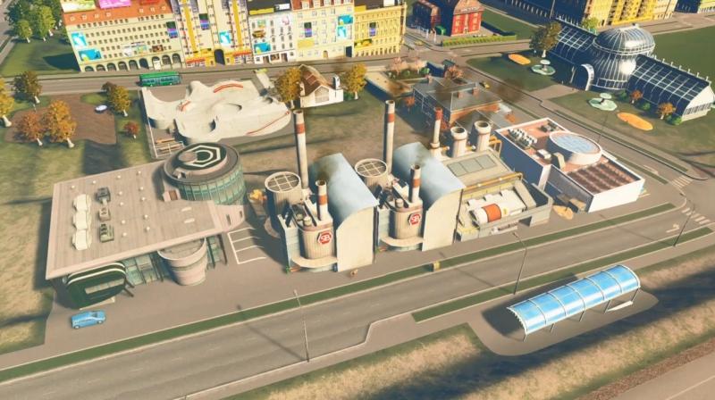 グランドリバーの産業区【シティーズ:スカイライン PlayStation4 Edition】