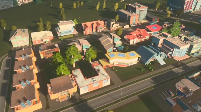 グリーンプレインの低密度の居住区【シティーズ:スカイライン PlayStation4 Edition】