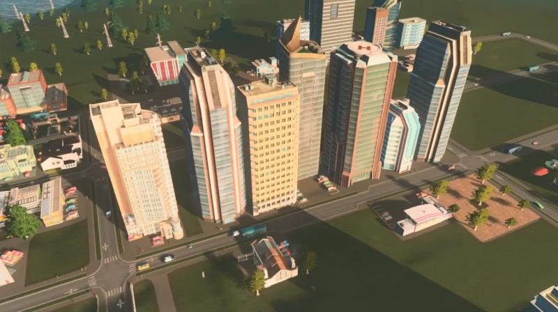 グリーンプレインの高密度の居住区【シティーズ:スカイライン PlayStation4 Edition】