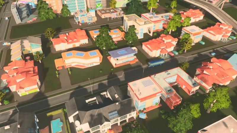 リバーランの低密度の居住区【シティーズ:スカイライン PlayStation4 Edition】