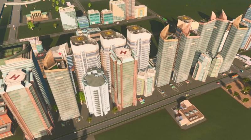 リバーランの高密度の居住区【シティーズ:スカイライン PlayStation4 Edition】