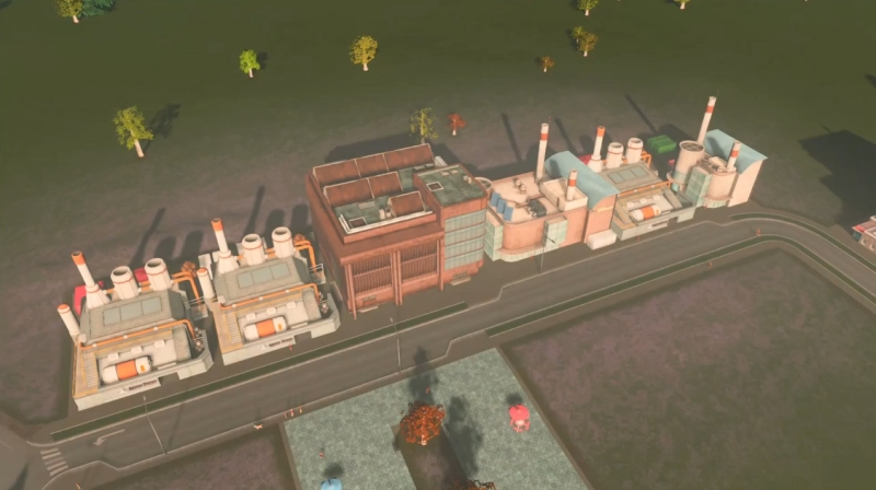 リバーランの産業区【シティーズ:スカイライン PlayStation4 Edition】