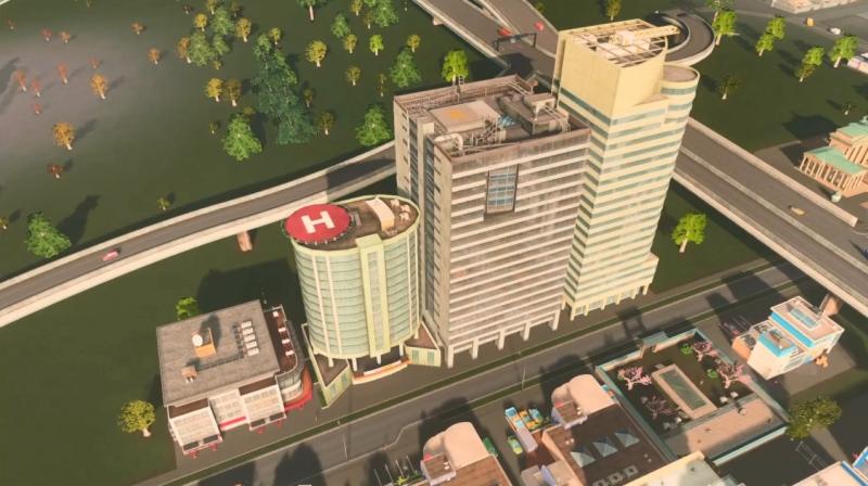 リバーランのオフィス区【シティーズ:スカイライン PlayStation4 Edition】