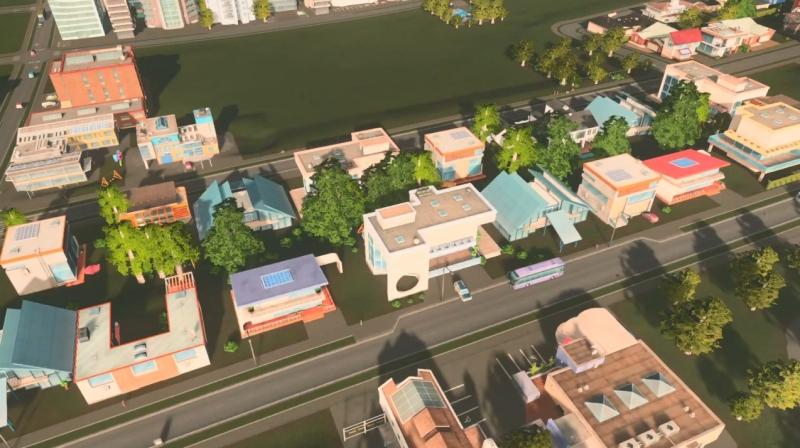 ブラックウッズの低密度の居住区【シティーズ:スカイライン PlayStation4 Edition】