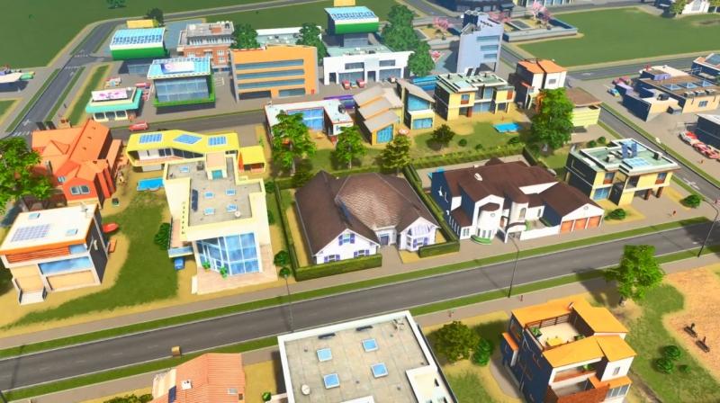 アイランドの低密度の居住区【シティーズ:スカイライン PlayStation4 Edition】