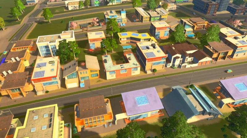 シェイディーストランドの低密度の居住区【シティーズ:スカイライン PlayStation4 Edition】
