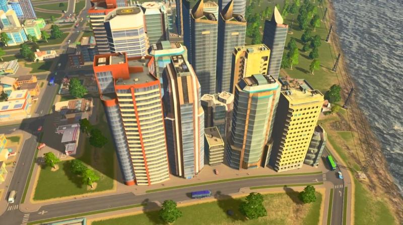シェイディーストランドの高密度の居住区【シティーズ:スカイライン PlayStation4 Edition】