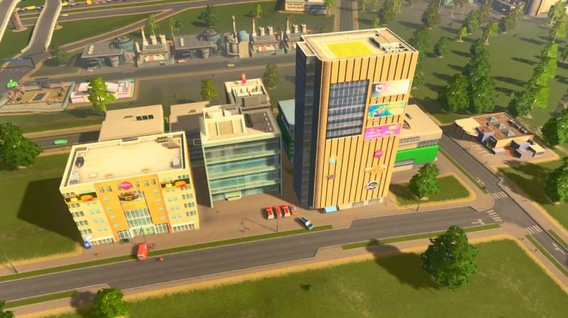シェイディーストランドの高密度の商業区【シティーズ:スカイライン PlayStation4 Edition】