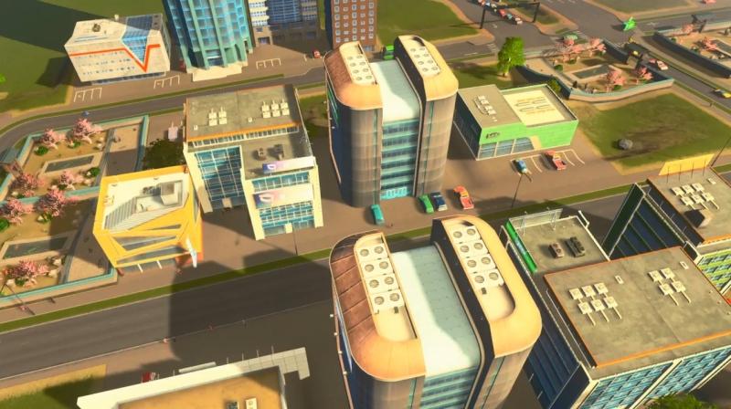 シェイディーストランドの低密度の商業区【シティーズ:スカイライン PlayStation4 Edition】
