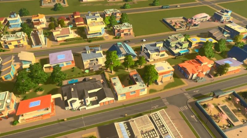 トゥーリバーの低密度の居住区【シティーズ:スカイライン PlayStation4 Edition】