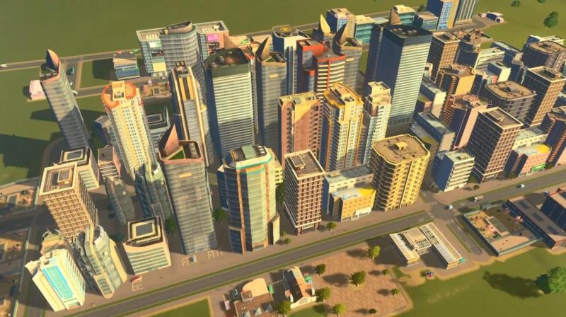 トゥーリバーの高密度の居住区【シティーズ:スカイライン PlayStation4 Edition】