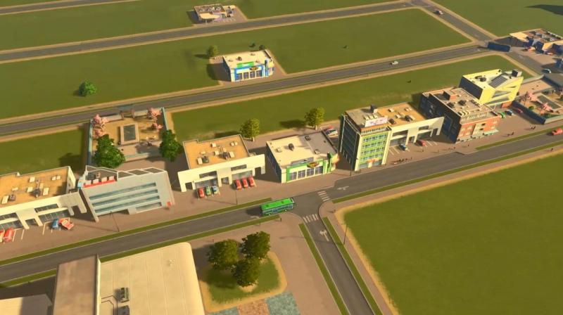 トゥーリバーの低密度の商業区【シティーズ:スカイライン PlayStation4 Edition】