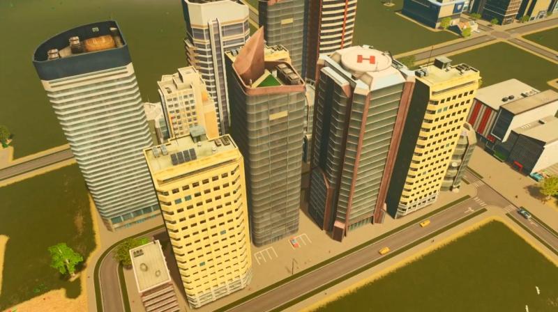 サンディービーチの高密度の居住区【シティーズ:スカイライン PlayStation4 Edition】