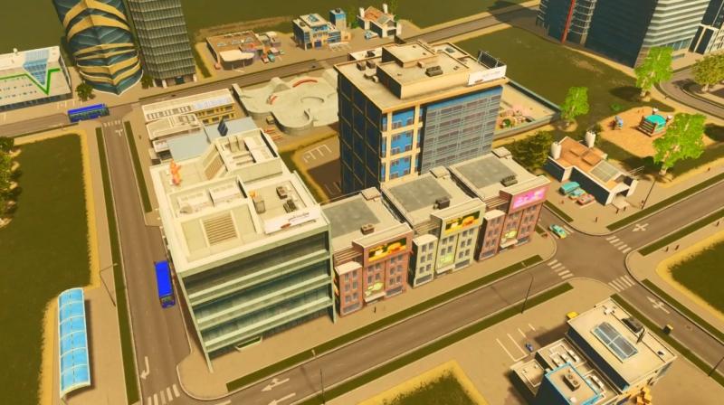 サンディービーチの高密度の商業区【シティーズ:スカイライン PlayStation4 Edition】