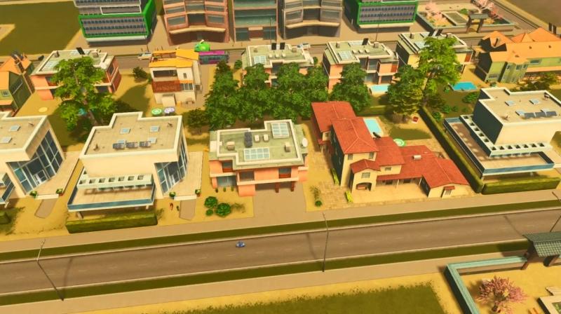 ラグーンショアの低密度の居住区【シティーズ:スカイライン PlayStation4 Edition】