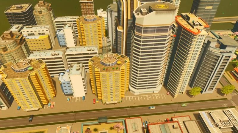 ラグーンショアの高密度の居住区【シティーズ:スカイライン PlayStation4 Edition】