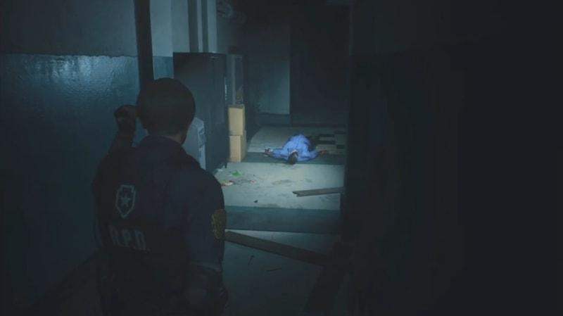 一度は倒した巨漢ゾンビ【バイオハザード RE:2 1-Shot Demo】