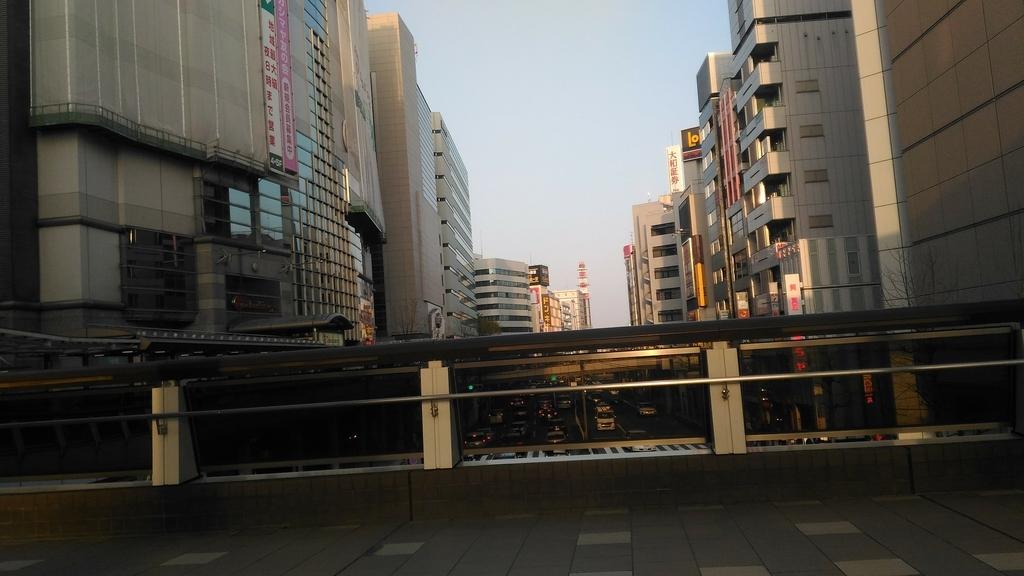 東京都立川市の街並み