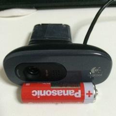 マイクとwebカメラ一体型のロジクールのウェブカメラC270