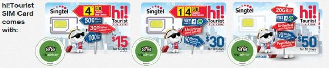 シンガポール空港でプリペイドSIMの購入と設定方法すぐ使える