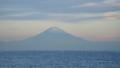 相模湾からの富士山