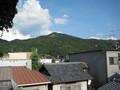 ベランダから見た大文字山