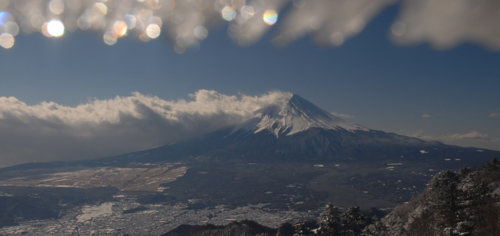 1月31日 富士山
