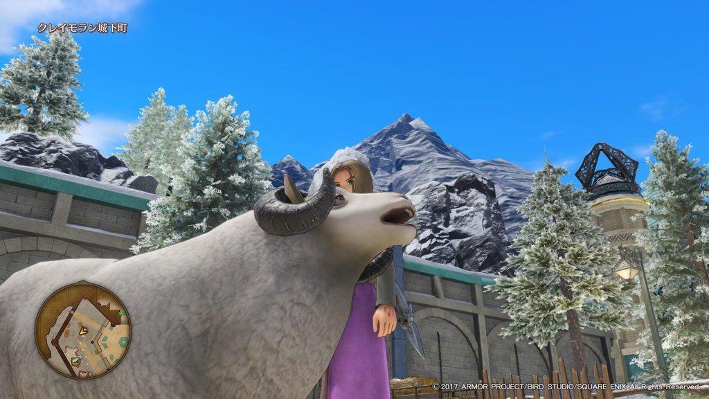 さむーい時はもこもこの羊に助けてもらうのもいい