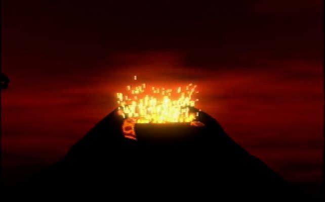 火山がうなりはじめる