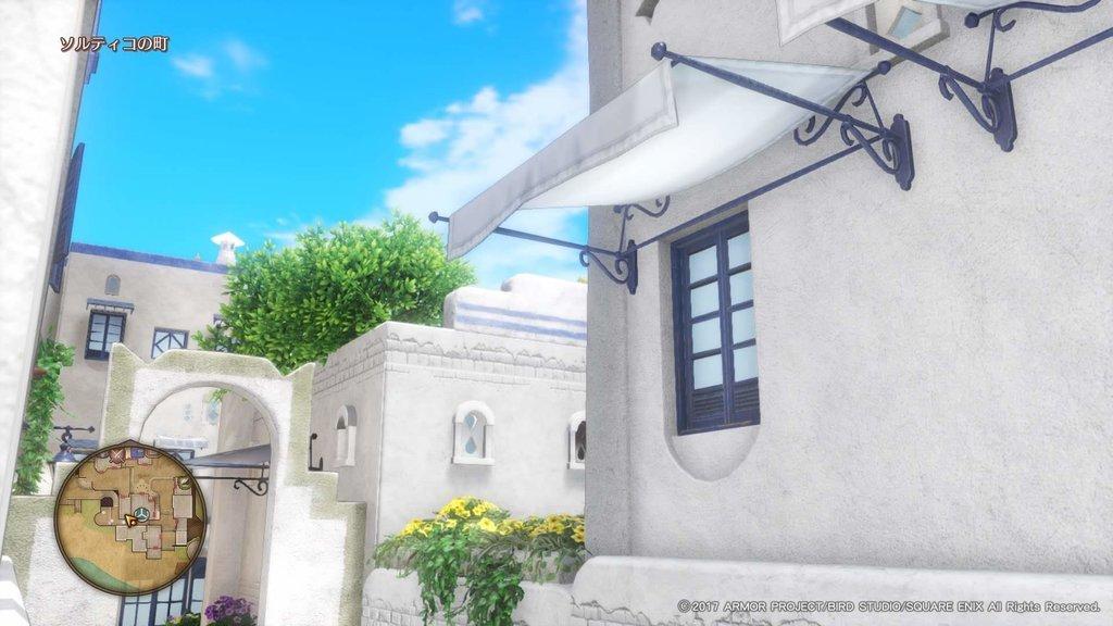 ソルティコの美しい建築物