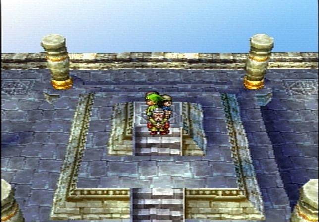世界一高い塔の最上階でござる