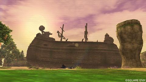 偽コニウェア平原のオンボロ船