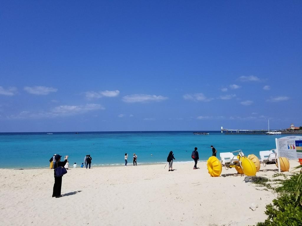 ブセナ海中公園 砂浜