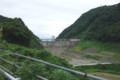 ダム上流側(駐車場から)