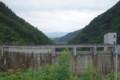 ダム上流側2