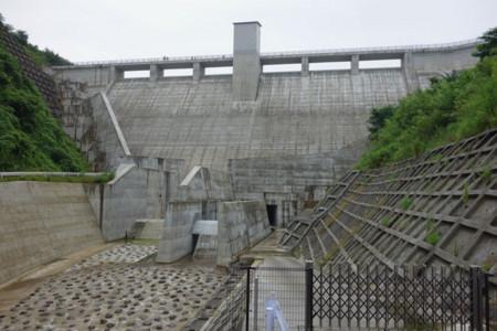 ダム下流側1