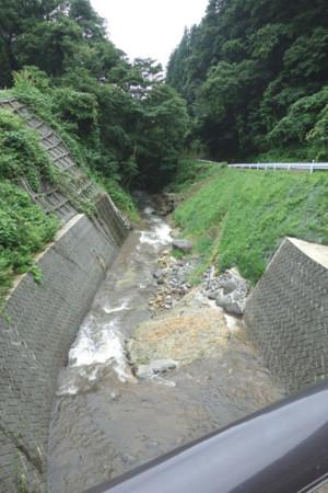 下流の「川」