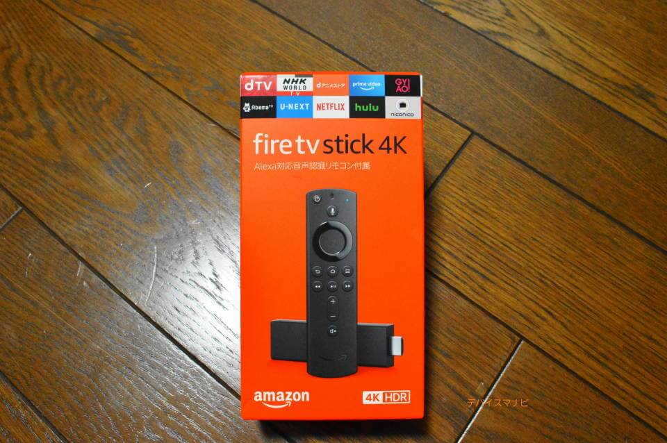 FireTVStick4K製品画面